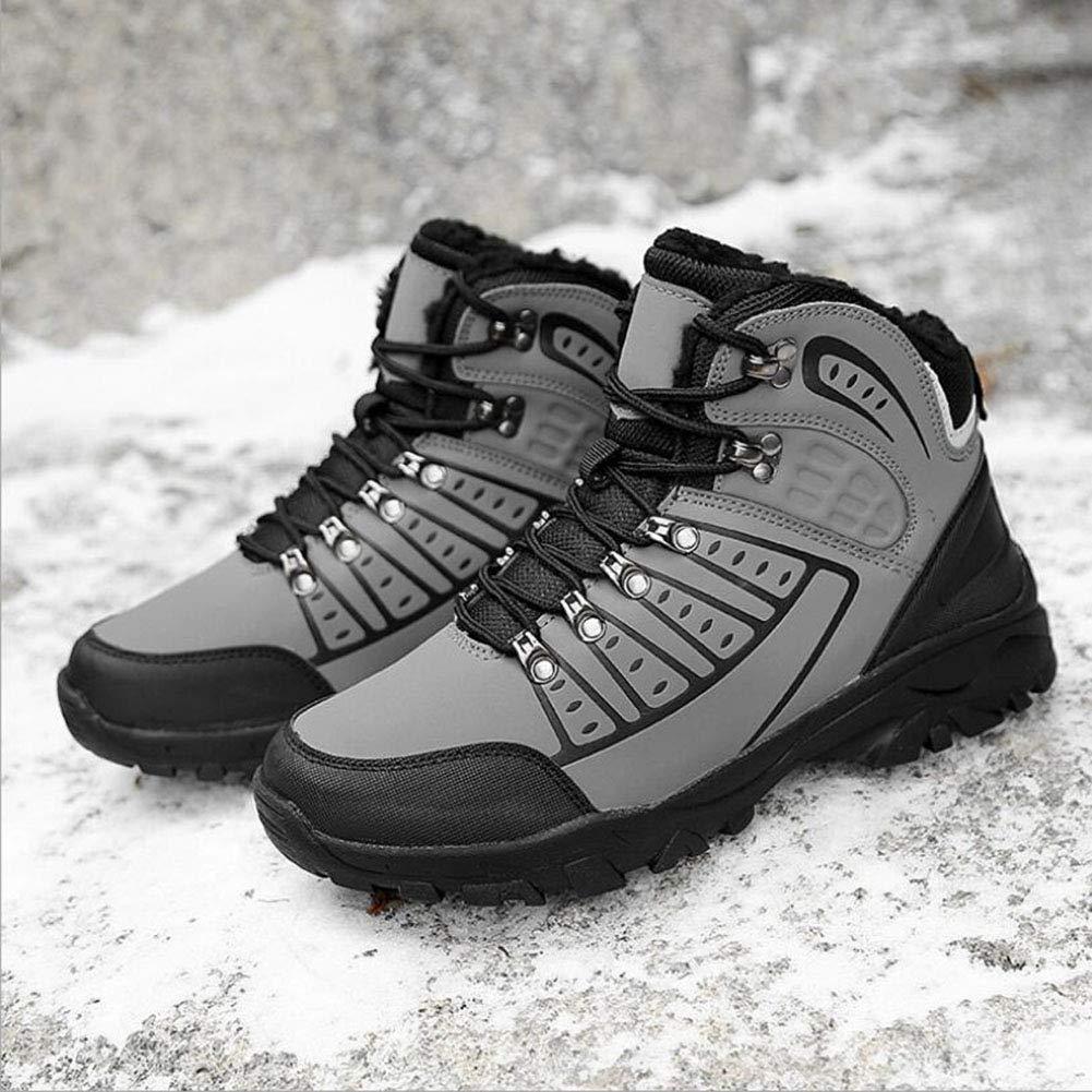 XUE Herren Turnschuhe Schneeschuhe   Mountaineer Schuhe Schuhe Schuhe Gummi Ski Snowboard   Wandern Wasserdicht, Anti-Rutsch-, Anti-Shake Damping Gummi Leder Outdoor, Komfort Wanderschuhe a6a2dd