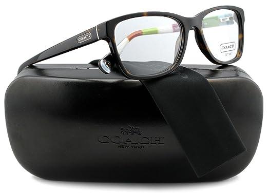 f25990417f Amazon.com  COACH HC6013 Julayne Eyeglasses Havana w  Demo Lens ...