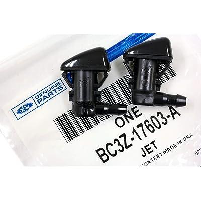 2011-2015 Ford F250 F350 F450 F550 Super Duty Windshield Washer Jet Nozzles OEM: Automotive