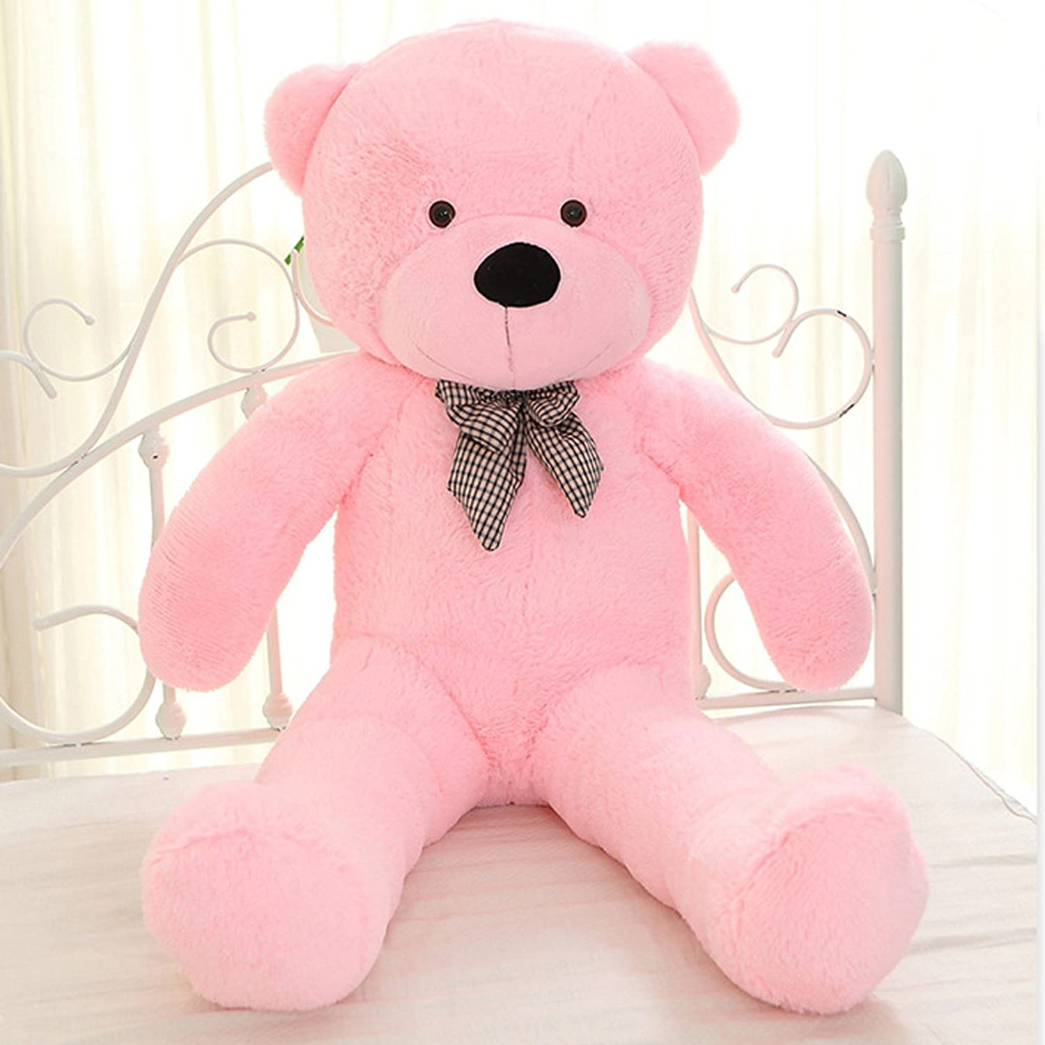 Amazon.com: MorisMos Giant Cute Soft Toys Teddy Bear for Girlfriend Kids Teddy Bear (Pink, 39 Inch): Toys & Games