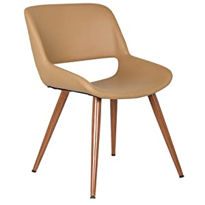 Porthos Home SQW2977 Shane Dining Accent Chair with woodent Finish, One Size, Natural