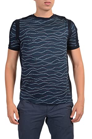 Moncler Gamme Bleu Men's Multi-Color Crewneck T-Shirt ...