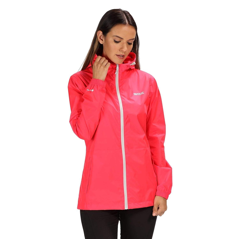 Mujer Regatta Womens Pack It III Waterproof and Breathable Lightweight Packaway Outdoor Chaqueta