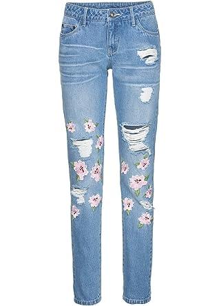 Schwarz NEU!! SALE/%/%/% Jeans mit destroyed Effekten Versandhaus