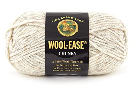 Amazon.com  Lion Brand Yarn Lion Brand Wool-Ease Chunky Yarn (153) Black e49f9ca7429