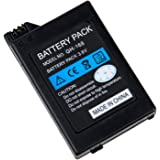 SODIAL(TM) Batteria ricaricabile Li-ion da 3.6V 2400mAh Slim per SONY PSP Slim 2000/3000 (Non Compatibile con PSP 1000 Fat)