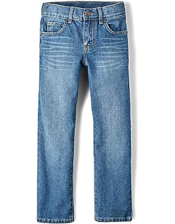 945b36e30de The Children s Place Big Boys  Straight Leg Jeans