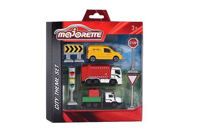 Majorette 212058586 - Tema Juego City, Miniatura Vehículo: Amazon.es: Juguetes y juegos