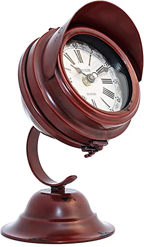 Wendy Handmade Clock with Glossy Red Color From The Barrel Shack