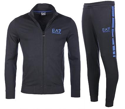 428c1e8660af2 Emporio Armani SURVÊTEMENT Homme EA7 Bleu Sweatshirt+Pantalon 6XPV59 PJ05Z  1582 (XXX-Large