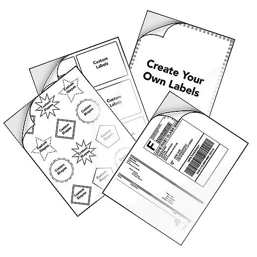 Amazon Com Milcoast Matte Full Sheet 8 5 X 11 Adhesive Tear