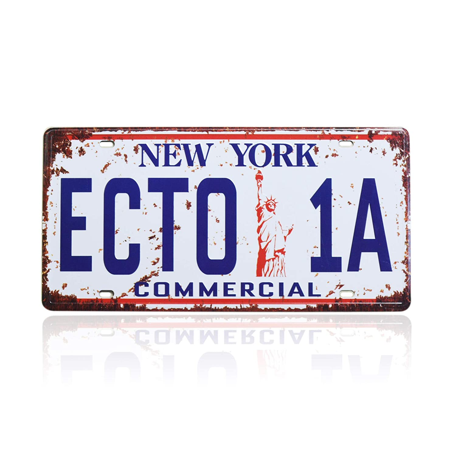 Ghostbusters ECTO-1A Vanity Novelty license plate Made In The U.S.A.