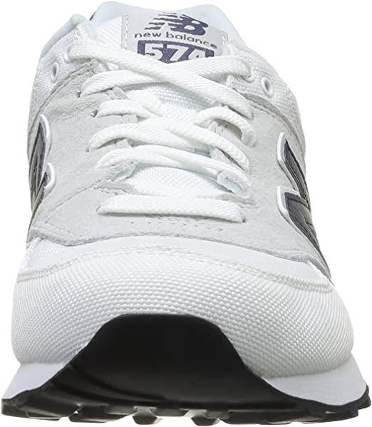 New Balance - Zapatillas para Hombre Blanco Blanco, Color Blanco, Talla UK 08: Amazon.es: Zapatos y complementos