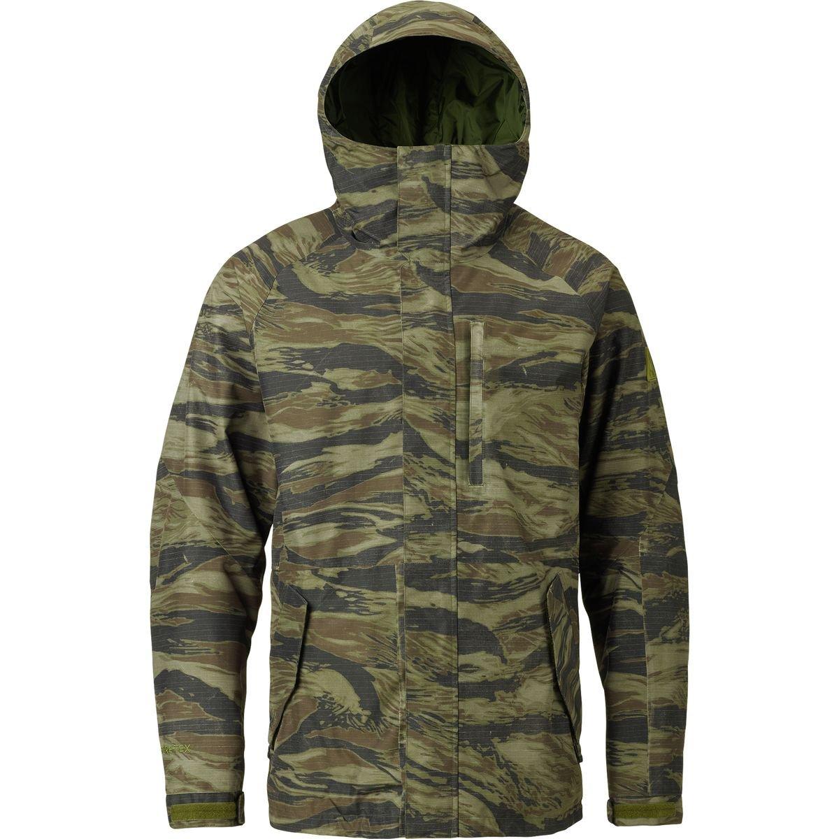 (バートン) Burton Radial Gore-Tex Jacket メンズ ジャケットOlive Green Worn Tiger [並行輸入品] B075JZNZK8  Olive Green Worn Tiger 日本サイズ L (US M)