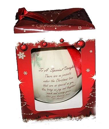 Weihnachtsbaum Gedicht.Weihnachtsbaum Gedicht Kugel Für Besondere Tochter Mit Einem