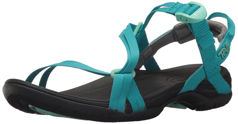 Teva Womens Women's W Sirra Sport Sandal B071WML7NH 5 B(M) US|Tile Blue