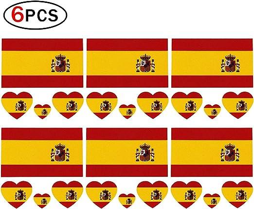 Tatuaje Romote temporal de las banderas nacionales de 2018 para el ...