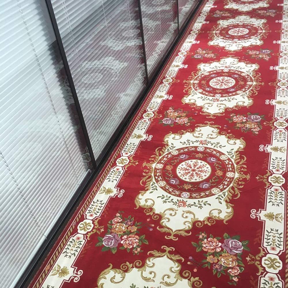 HAIZHEN カーペット, 廊下カーペットクラシックオリエンタルフラワーデザインランナーカーペット 屋内での使用に適しています (色 : 2, サイズ さいず : 100*200cm) B07RGZ5WKY 2 100*200cm