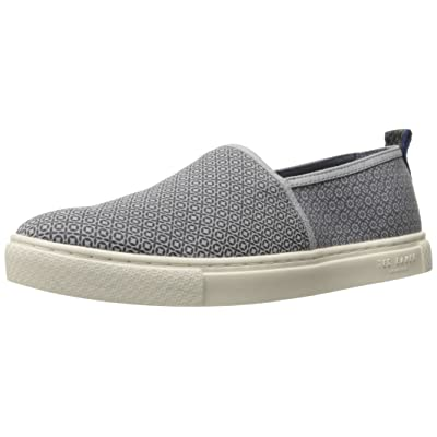 Ted Baker Men's ZHANGG SUED AM Loafer, Light Grey/Multi, 11 M US: Shoes