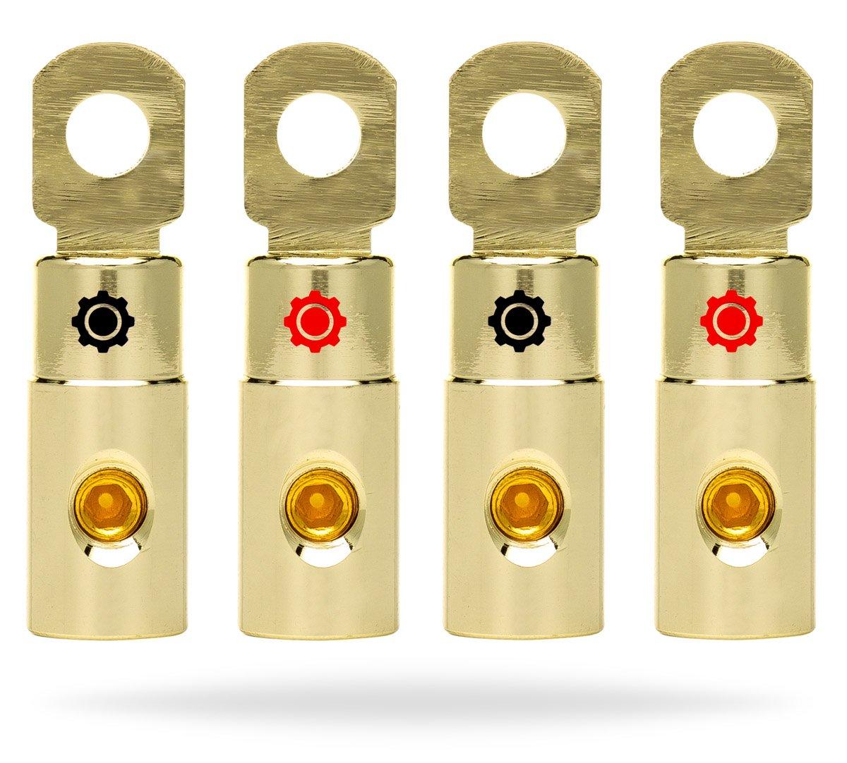 Db Link Pk4z 4 Gauge Power Series Amp Installation Kit: Amazon.com: Kinetik HC600 BLU Series 600-Watt 12-Volt High