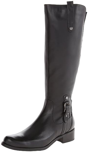Blondo Women's Venise Waterproof Riding Boot,Black Boston,5.5 ...