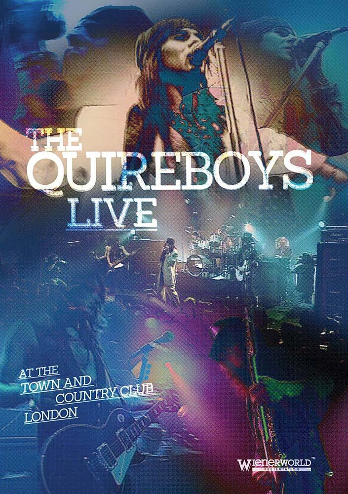 DVD : Quireboys - Live At The Town & Country Club (DVD)