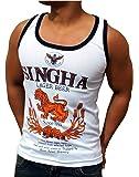 SINGHA Beer | camiseta de tirantes para hombe (Tank-Top) | talla: S, M, L, XL, XXL