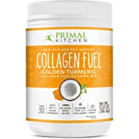 Primal Kitchen Golden Turmeric Collagen Fuel Drink Mix - Non-Dairy Coffee Creamer & Smoothie Booster- Supports Healthy…
