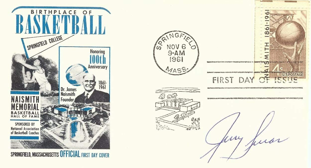 Jerry Lucas Signed Autographed 1961 First Day Issue Cachet Knicks JSA AA84559