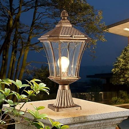 DFQX Camino Luces LED Bombillas Powered Paseo Jardín de la Vendimia Luces for al Aire Libre del césped, Patio, Patio, Pasarela, Calzada (Color : Brass): Amazon.es: Hogar