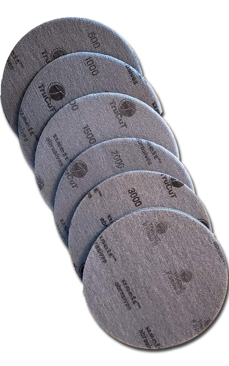 Creating the Difference TruCut by CTD Sanding Pads | 6'' Size | 6 Pack