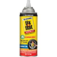 Fix-A-Flat S60410 Aerosol Tire Inflator with Eco-Friendly Formula, 12 oz. Cone Top