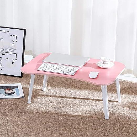 ZTMN Mesa Plegable para computadora portátil Mesa portátil, Mesita ...