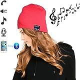 SZPLUS Weiche warme Knit Beanie Hut drahtlose Bluetooth Smart-Cap-Kopfhörer-Kopfhörer-Lautsprecher Mic für iPhone6s 6plus 5s 5c Samsung Galaxy Note 5 4 3 S6 S5 HTC LG und Ipad Tablet