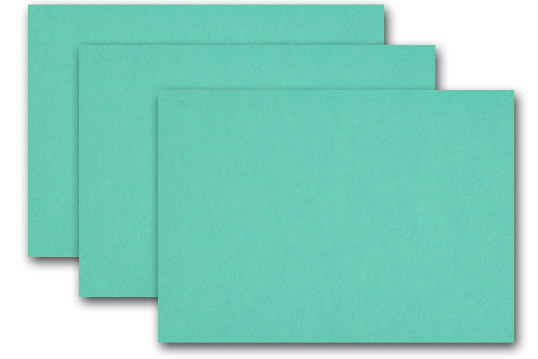 Premium Colored Blank 4x6 Card Stock (250 Pack, Blue Raspberry)