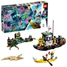 LEGO 70419 Hidden Side Wrecked Shrimp Boat Toy, AR Games App, Interactive Augmented Reality Ghost Playset for iPhone/Android