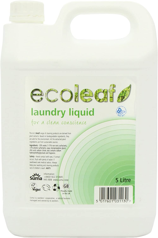 Ecoleaf Liquid Laundry Detergent 5 Litre: Amazon.es: Electrónica