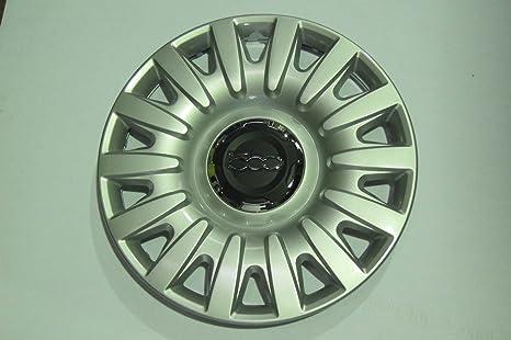 """Fiat 500 L 500L 16 """"wheeltrim, borde de la rueda Hub Tapa de"""