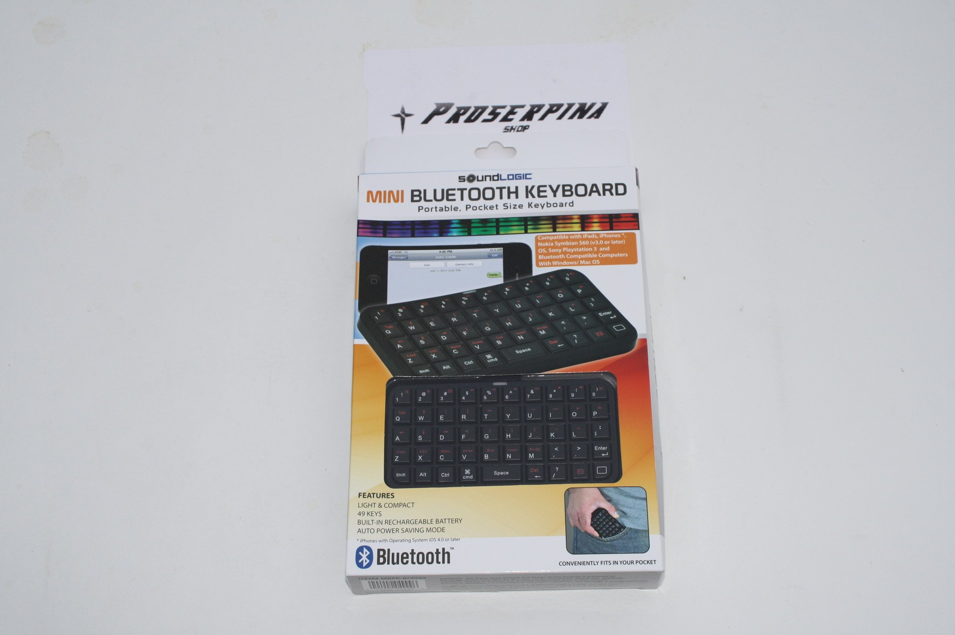 Mini Bluetooth Keyboard by SoundLogic