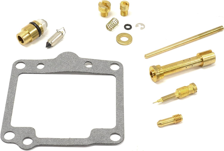 Tuzliufi Replace Carb Carburetor Rebuild Repair Kit Suzuki Boulevard S40 2005 2006 2007 2008 2009 Savage LS 650 LS650 LS650F LS650P 1986-1998 1999 2000 2001 2002 2003 2004 2005 2006 2007 2008 New Z258