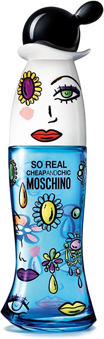 Moschino So Real Cheap & Chic Agua de Colonia - 50 ml: Amazon.es: Belleza