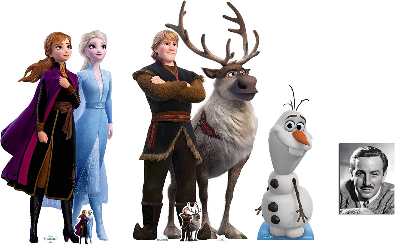 89cm Disney Frozen Olaf Lifesize Cardboard Cutout