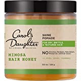 Carol's Daughter Mimosa Hair Honey Shine Pomade For Dry Hair and Textured Hair, with Shea Butter and Cocoa Butter, Paraben Fr