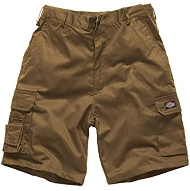 8e05a1328f Dickies Redhawk Mens Cargo Style Shorts Workwear Casual Side Pockets Back  Pockets: Amazon.co.uk: Clothing