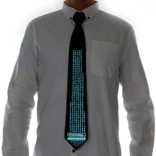 71scKT 8FRL. UX522  - 5 Cheerful Ties That Light Up