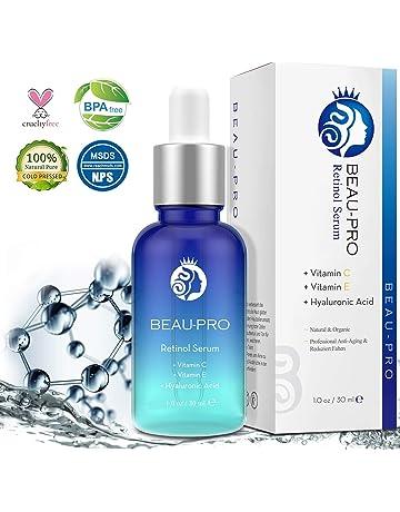 Suero de Retinol, Siman Retinol Serum 2.5% Facial con Ácido Hialurónico + vitamina A