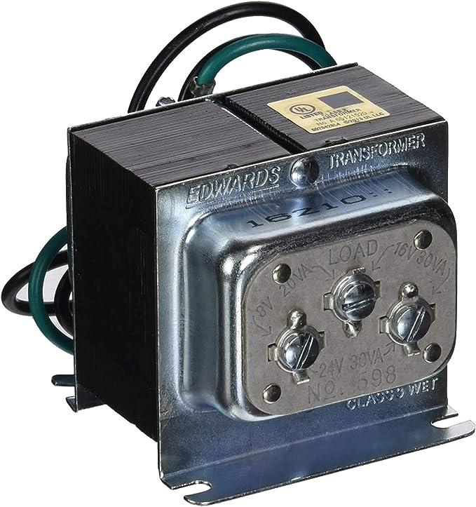 Edwards Signaling 598 120V 8/16/24V 30W Transformer - Security And  Surveillance Accessories - Amazon.comAmazon.com