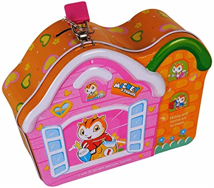 24488374e182 Buy Ollington Street Coin Box - House Design - Mustard Online at Low Prices  in India - Amazon.in