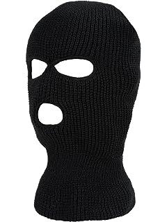 Pack of 3 Winter Ski Mask Motorcycle Face Mask Hood Wind Scarf 3 Hole Ventilation Balaclavas
