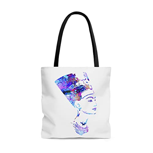 Amazon.com: Watercolor Nefertiti Tote Bag, Books Bag, Beach ...
